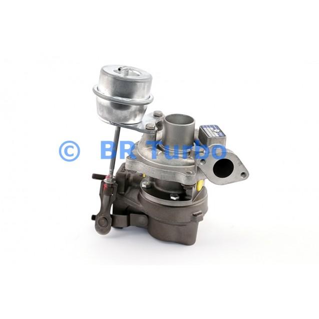 Taastatud turbokompressor FIAT Cinquecento 1.3 SJTD
