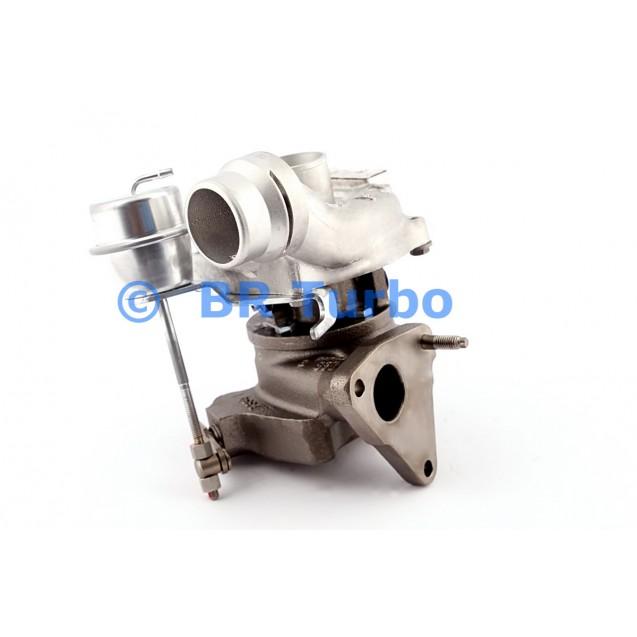 Taastatud turbokompressor RENAULT Kangoo 1.5 Dci