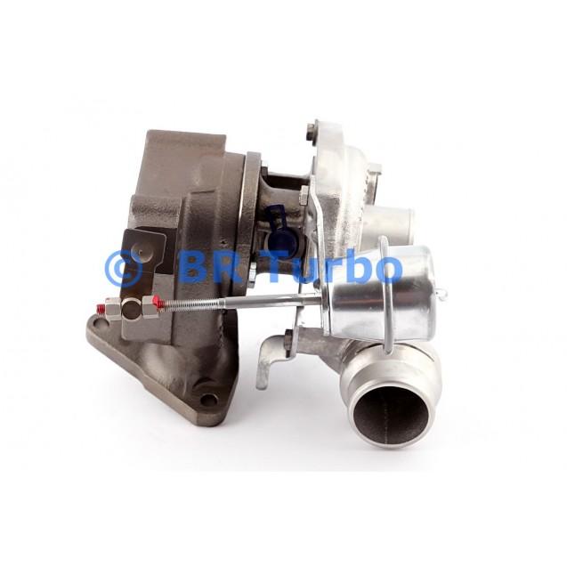 Taastatud turbokompressor RENAULT Clio III 1.5 Dci