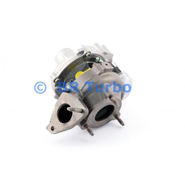 Taastatud turbokompressor NISSAN X-Trail 1.6 dCi
