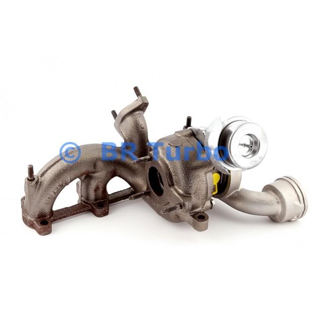 Taastatud turbokompressor BORGWARNER   54399880023RS