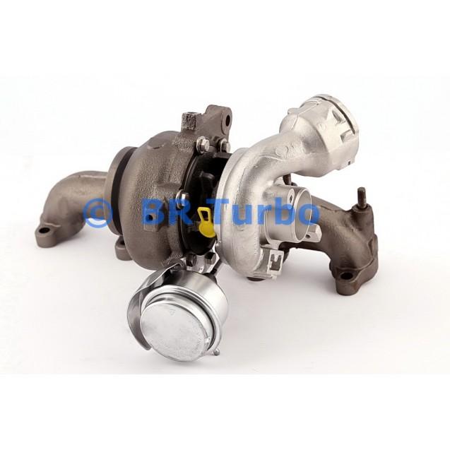 Taastatud turbokompressor AUDI A3 1.9 TDI