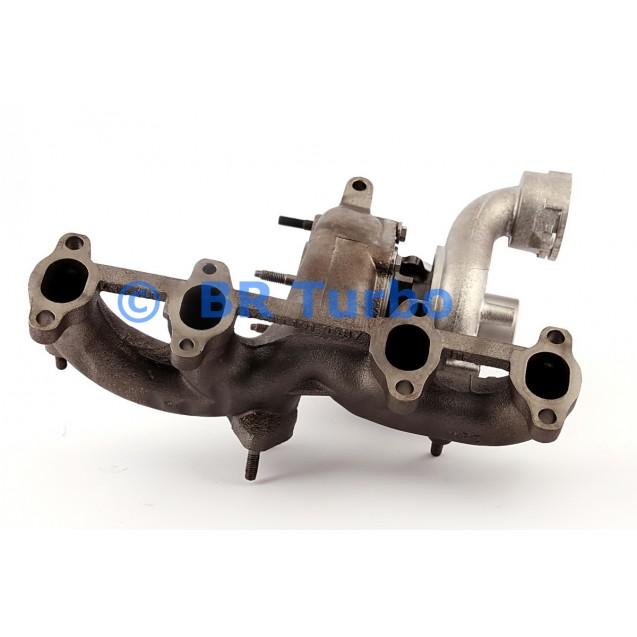 Taastatud turbokompressor BORGWARNER | 54399880047RS