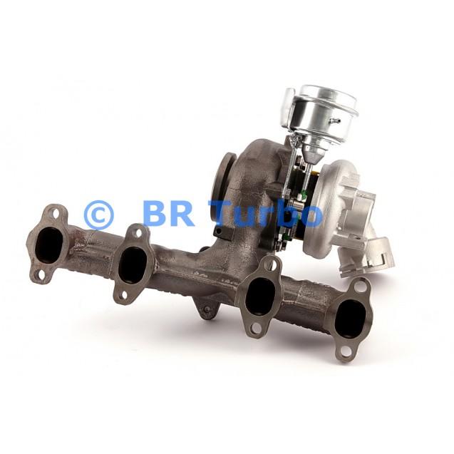 Taastatud turbokompressor AUDI A3 1.9 (8P/PA)