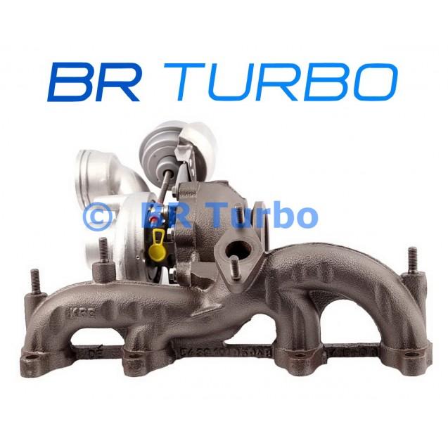Taastatud turbokompressor BORGWARNER | 54399880058RS