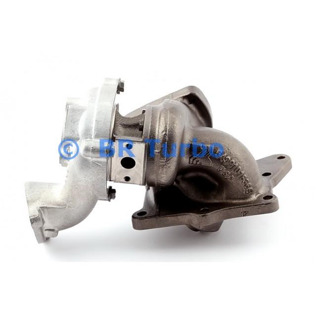 Taastatud turbokompressor BORGWARNER | 54399880106RS