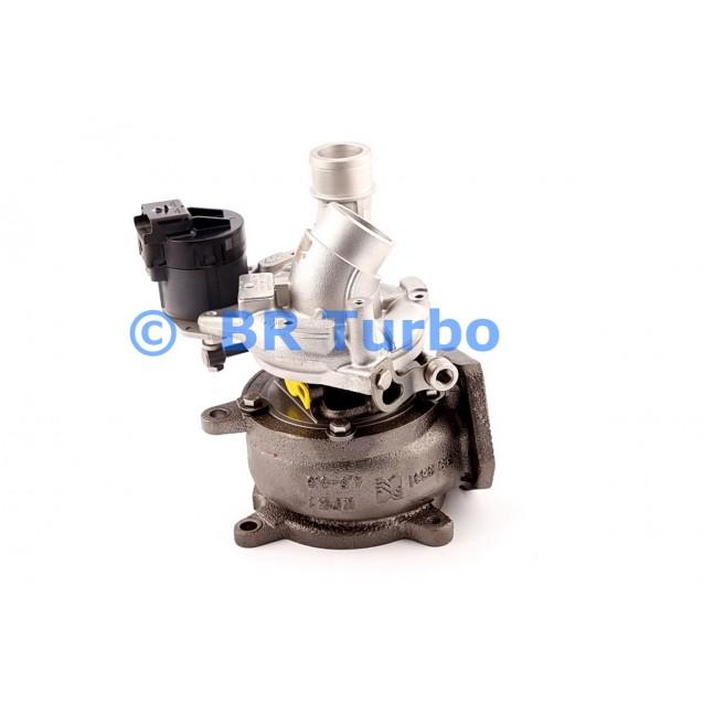 Taastatud turbokompressor LAND ROVER Range Rover 3.6 TDV8