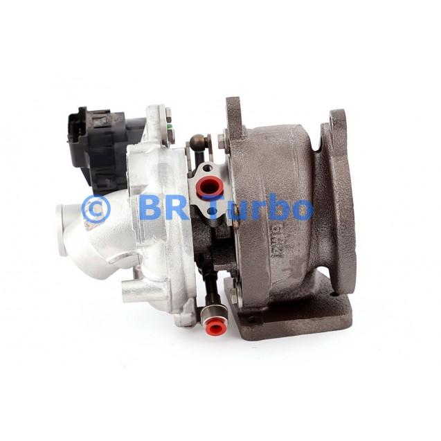 Taastatud turbokompressor BORGWARNER | 54399880113RS