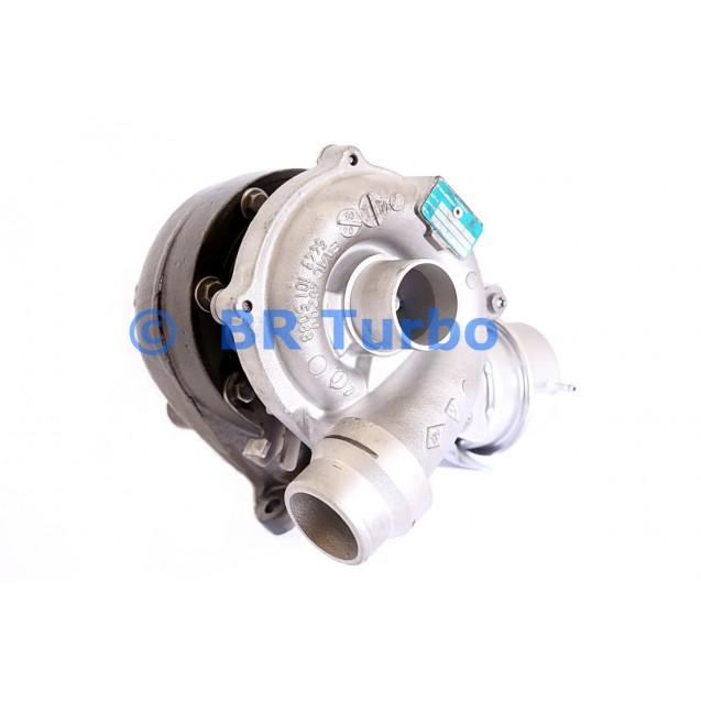 Taastatud turbokompressor BORGWARNER | 54399980090RS