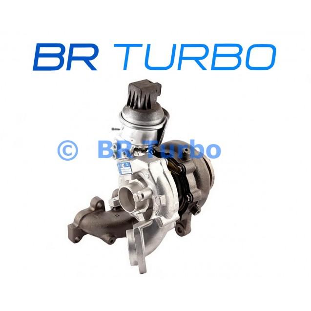 Taastatud turbokompressor AUDI Q3 2.0 TDI