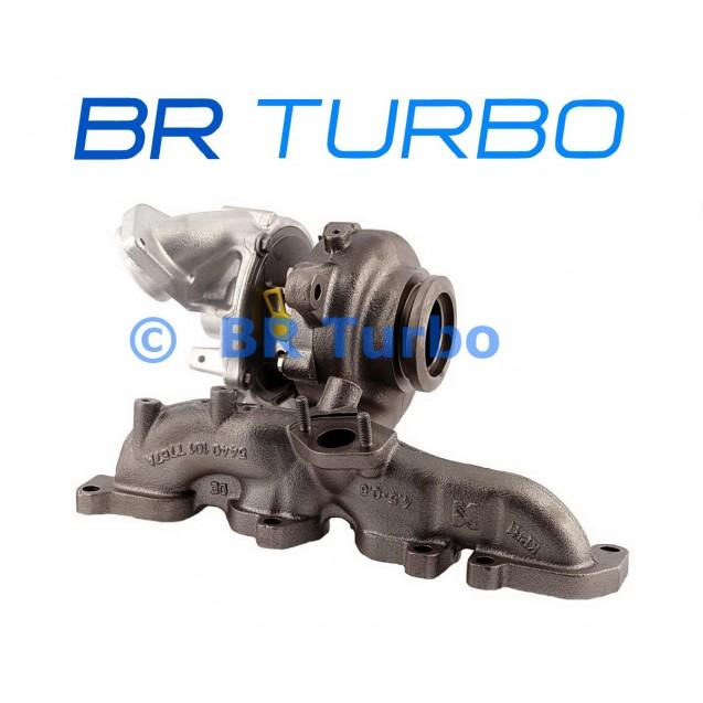 Taastatud turbokompressor BORGWARNER | 54409880036RS