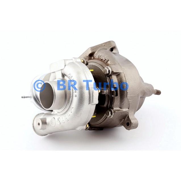 Taastatud turbokompressor BMW 320 D 1.9 (E46)