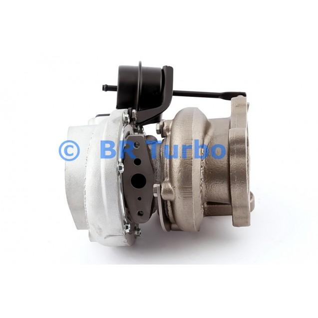 Taastatud turbokompressor NISSAN Patrol 2.8 TD