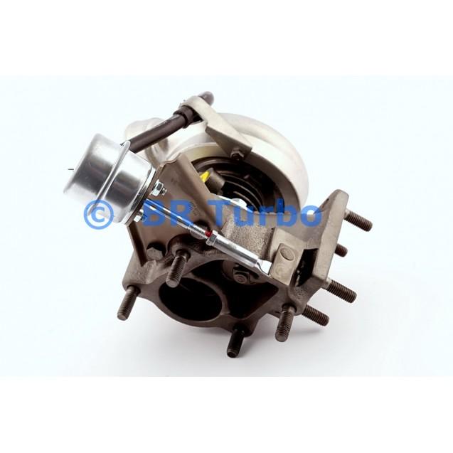 Taastatud turbokompressor GARRETT | 703325-5001RS