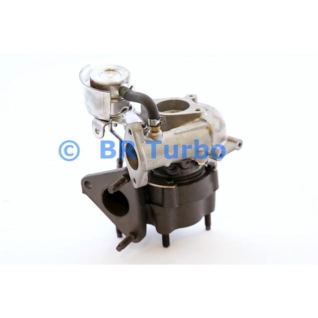 Taastatud turbokompressor GARRETT | 705306-5001RS