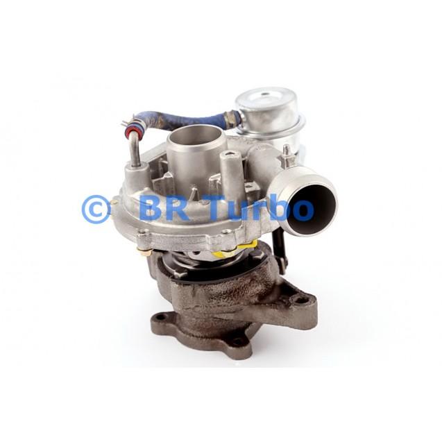 Taastatud turbokompressor CITROEN C 5 I 2.0 HDI