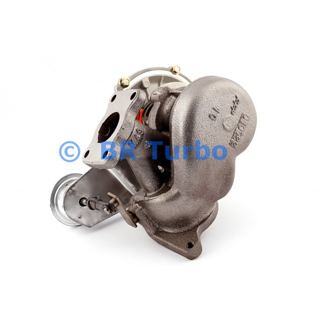Taastatud turbokompressor CITROEN Evasion 2.0 HDi