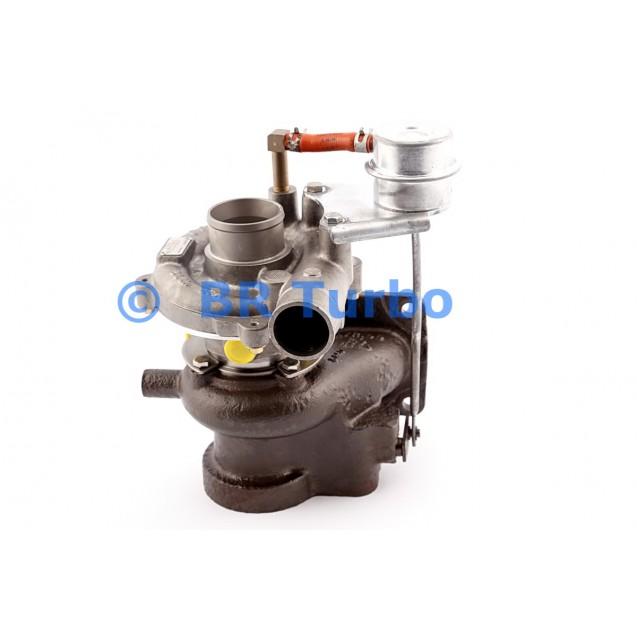 Taastatud turbokompressor HYUNDAI Chorus 3.3 D