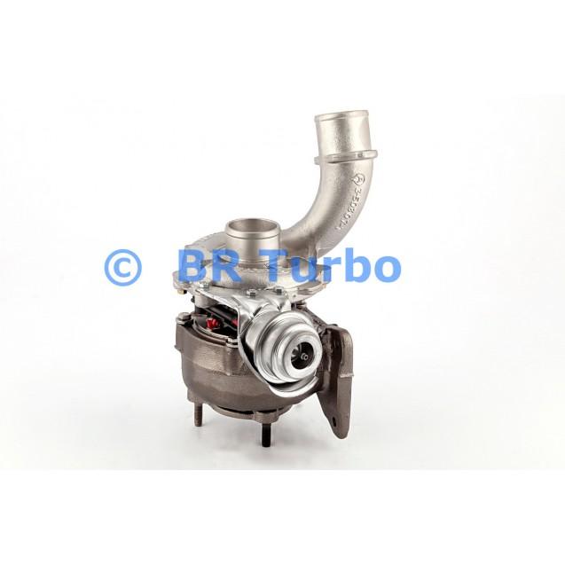 Taastatud turbokompressor GARRETT   708639-5001RS