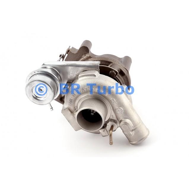 Taastatud turbokompressor FIAT Doblo 1.9 JTD