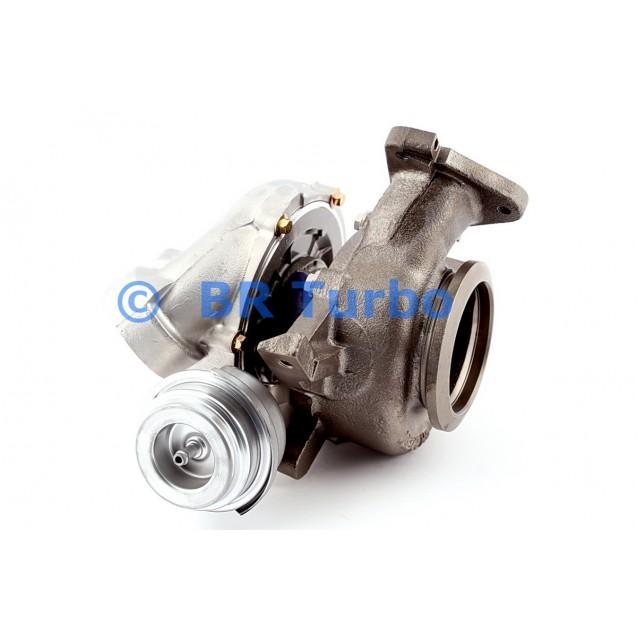 Taastatud turbokompressor GARRETT   709835-5001RS
