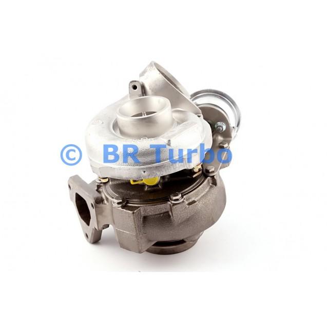 Taastatud turbokompressor GARRETT | 711009-5001RS