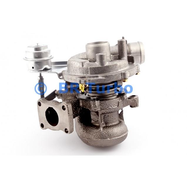 Taastatud turbokompressor PEUGEOT 806 2.0 HDi
