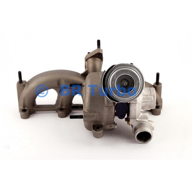 Taastatud turbokompressor GARRETT | 713672-5001RS