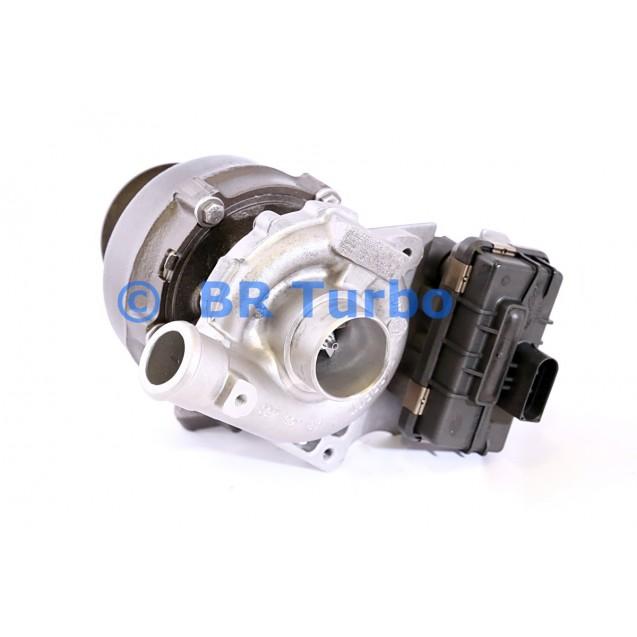 Taastatud turbokompressor BMW 740 D 3.9 D (E38)
