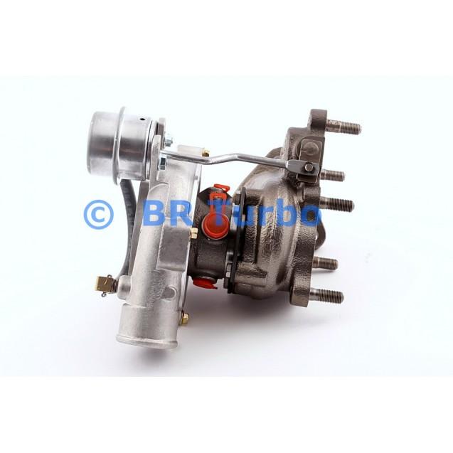 Taastatud turbokompressor HYUNDAI H-1 2.5 D