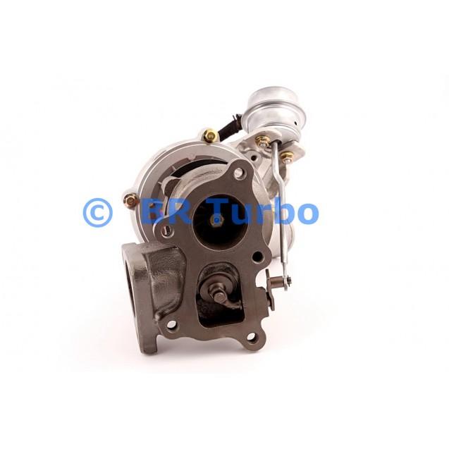 Taastatud turbokompressor KIA Frontier 2.5 TCI
