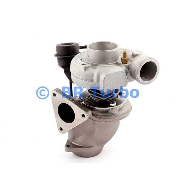 Taastatud turbokompressor GARRETT   717123-5001RS