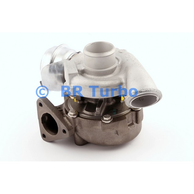 Taastatud turbokompressor OPEL Astra G 2.2 DTI