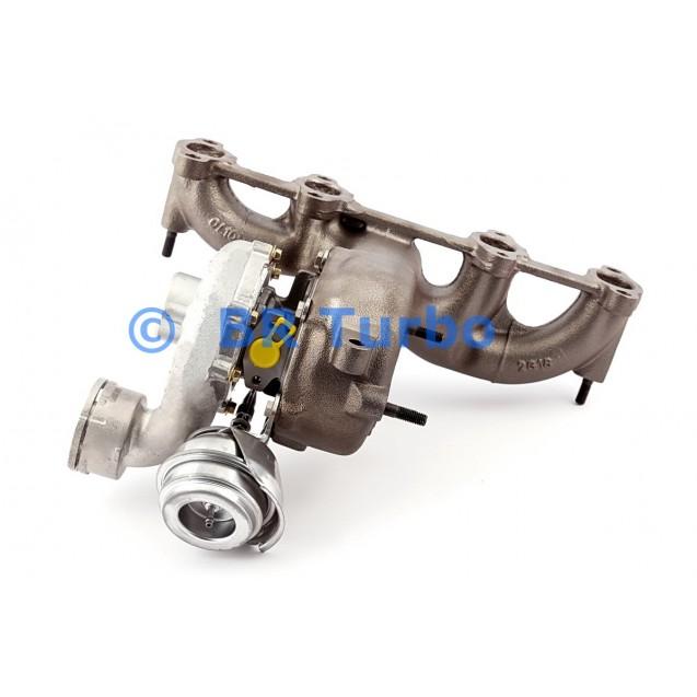 Taastatud turbokompressor ŠKODA Fabia 1.9 TDI RS
