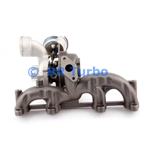 Taastatud turbokompressor GARRETT | 721021-5001RS