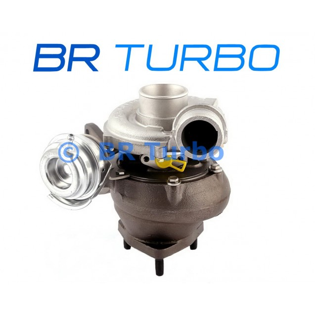 Taastatud turbokompressor VOLVO PKW S80 2.4 D5