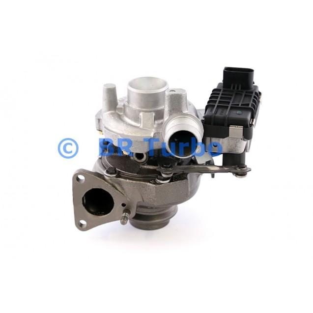 Taastatud turbokompressor GARRETT   723340-5001RS