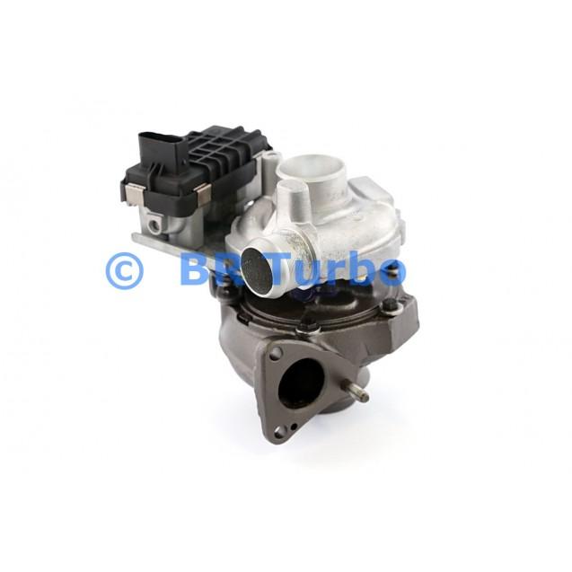 Taastatud turbokompressor CITROEN C 5 2.7 D