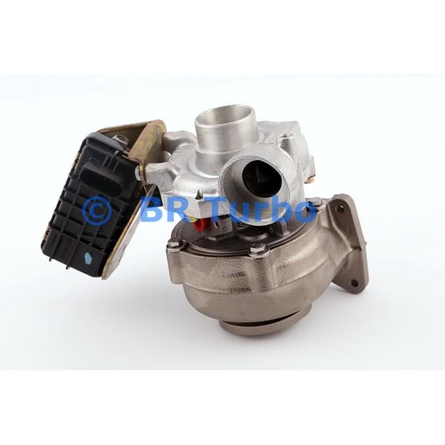 Taastatud turbokompressor MERCEDES PKW E Class 4.0 400 CDI (W211)