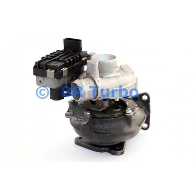 Taastatud turbokompressor GARRETT | 726422-5001RS