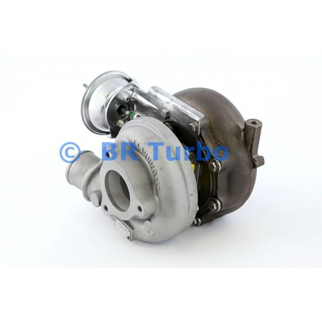 Taastatud turbokompressor NISSAN Terrano II (R20) 3.0 Di 4WD