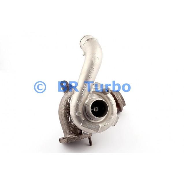 Taastatud turbokompressor PEUGEOT 406 2.2 Hdi Coupe