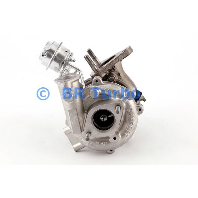 Taastatud turbokompressor NISSAN Almera 2.2 Di