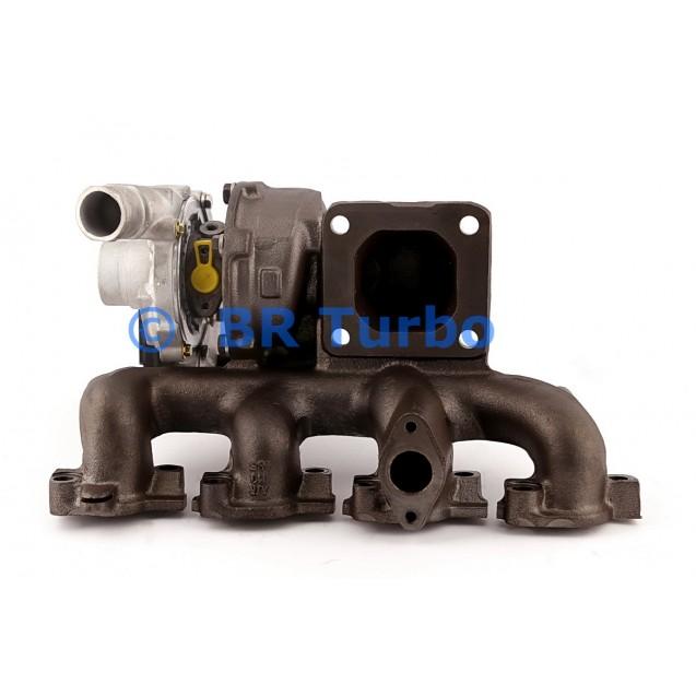 Taastatud turbokompressor JAGUAR X 2.0 D