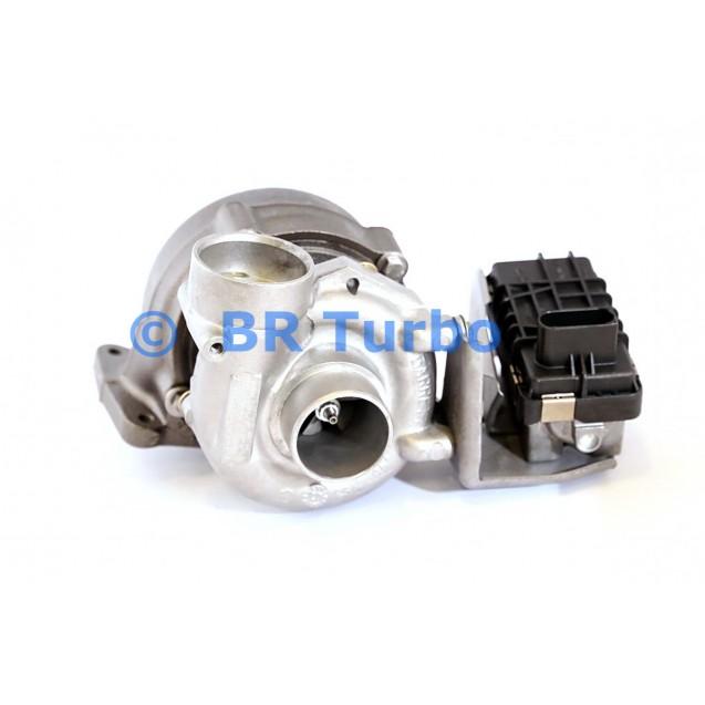 Taastatud turbokompressor MERCEDES PKW S Class 4.0 420 Cdi (W221)