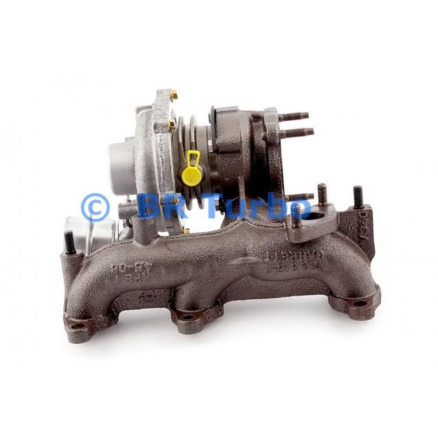 Taastatud turbokompressor VOLKSWAGEN Fox 1.4 TDI