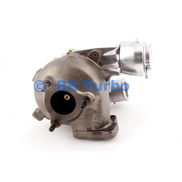 Taastatud turbokompressor HYUNDAI Pride 1.5 CRDi