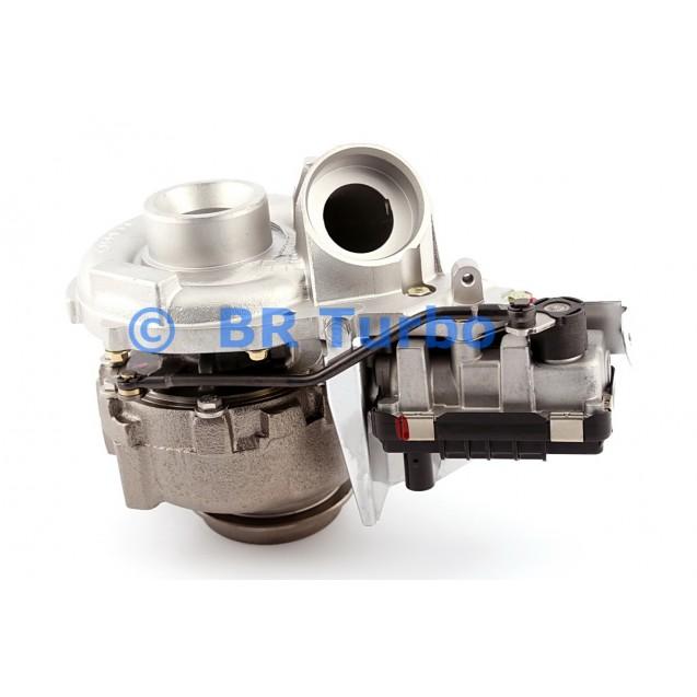Taastatud turbokompressor MERCEDES PKW E Class 2.2 200 CDI (W211)