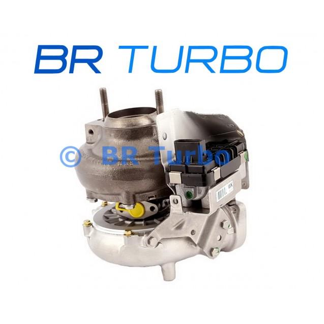 Taastatud turbokompressor BMW 530 D 3.0 D (E60/E61)