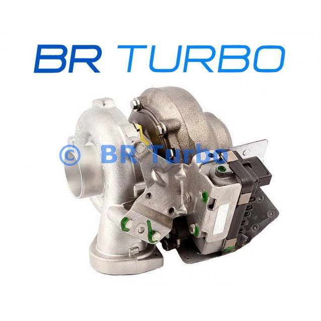 Taastatud turbokompressor BMW 525 D 2.5 D (E60/E61)